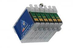 Перезаправляемые картриджи для Epson Artisan 837
