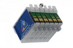 Перезаправляемые картриджи для Epson EP-706A