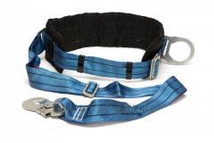 Belt safety bezlyamochny Sinew with a tape sling