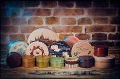 Boxes souvenir handwork to order