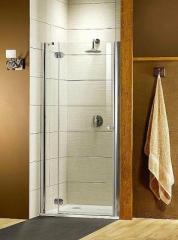 Door glass for a shower