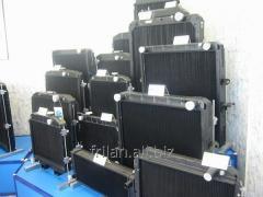 Radiators for harvester combines