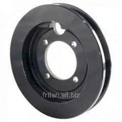 Pulleys for agricultural machinery