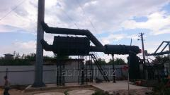 The furnace for recycling of UT500