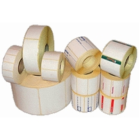 Label self-adhesive prepress in a roll of Termo of EKO of 58х40 mm, 700 pieces/roll.
