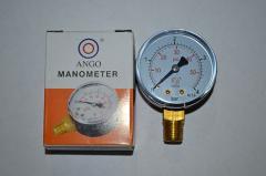 Манометр 0-4 вертикальний (радиальный)