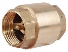 Обратный клапан 1 1/2 латунный шток Укр.