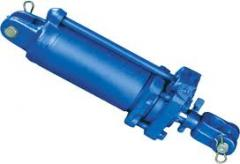 Hydraulic cylinder, rod, sleeve