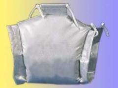 La capota calorífugo / la chaqueta para la