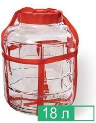 Large bottle of 18 liters.