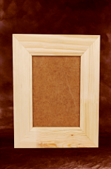 Frame for the photo of TM ALBERO, preparation for