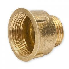 Adapter 1/2H x 1B (brass)