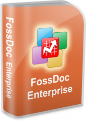 Corporate electronic document flow of FossDoc