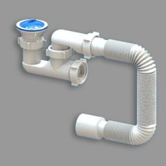 Siphon for a shower cabin audit of D 02 Santeh