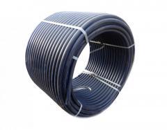 Труба STR ПНД d 50-3, 7мм(10 атм.черная)