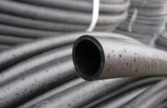Труба STR ПНД d 63-4, 7мм(10 атм.черная)
