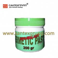 Paste sealing Green past