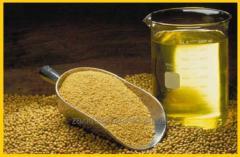 Oil soy not refined