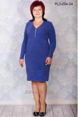 Платье PL3-054 трикотажное