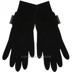 Gloves cashmere warmed
