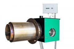 Горелка пеллетная для нагрева технологических процессов 100 кВт
