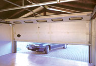 Ворота гаражные секционные.