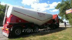 Guven 24m3 V-type SERTEL cement truck