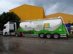Guven 24m3 V-type cement truck