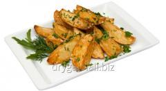 Potato on selyansk
