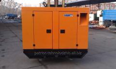 Дизельный генератор ВМ80В в кожухе, мощность 64 кВт