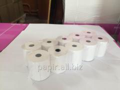 Cash tape of thermo 57 mm 17 m (box of 200 rolls.)