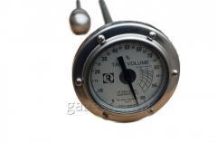 Уровнемер Rochester gauges Magnetel 6300 для ГНС, больших стационарных емкостей СУГ,  указатель уровня сжиженного газа пропан-бутана, полуприцепов- газовозов