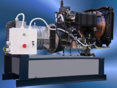 TLW jeneratör-15/1 su soğutmalı dizel motor