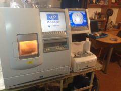The machine for an obratoka of lenses of Essilor