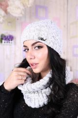 Cap knitted Laura
