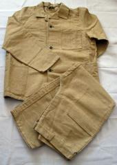 Одежда защитная брезентовая и парусиновая. Костюм