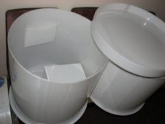 Containers food plastic