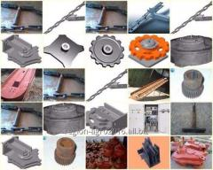 Spare parts for TSN-2B, TSN-3B, TSN-160 conveyors