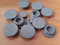 Stopper of rubber 34 mm for bottles