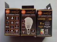 Lamp LED G45 E14 6w