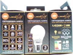 Lamp LED A60 E27 8w
