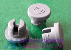 Stopper of rubber 20 mm (liofilny) for bottles
