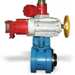 Industrial stop valves