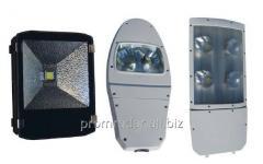 Светодиодные светильники промышленного и уличного
