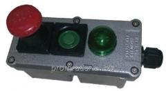 Посты управления взрывозащищенные кнопочные типа