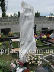 Memorial sculpture made of granite