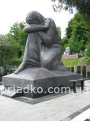 Монументальная скульптура из гранита