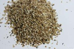 Buckwheat grain waste