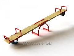 Kachelya-balansir Start with a metal framework of
