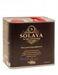 """Solaya"" unrefined, warm-pressed Oil  Volume: 2.5L Type of packaging: Drum (metal)"